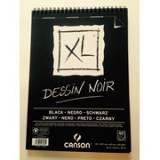 Canson XL - Dessin Noir, black sketch block A4